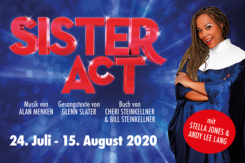 SISTER ACT - das Musical - verschoben auf 06.08.2021